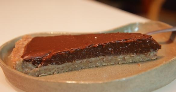 פרוסת פאי שוקולד - קוקוס